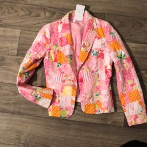 Lilly Pulitzer Patchwork Jacket